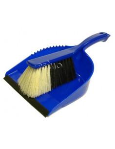 Recogedor de mano con cepillo