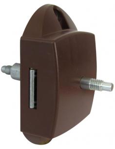 Cerradura y tirador con apertura interior y exterior