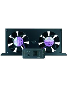 Ventilador duplo para geladeira com painel indicador CBE Led