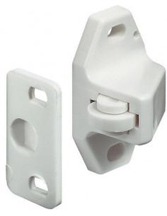 Retentor de porta de roleta em branco