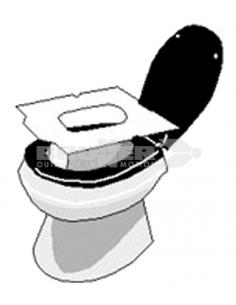 Papel protector para la taza WC