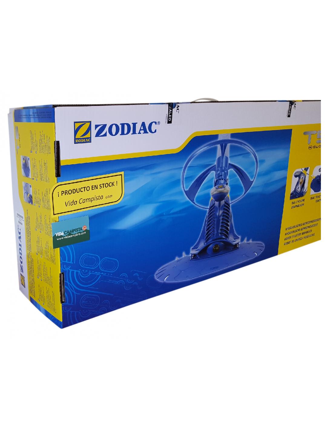 Zodiac t5 duo limpiafondos autom tico pulpo piscina for Pulpo para piscina