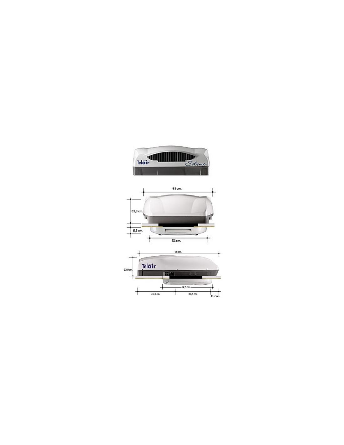 Aire acondicionado telair silent 7400h con bomba de calor for Aparatos de aire acondicionado con bomba de calor