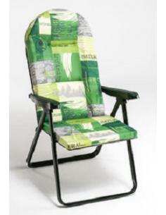 Klappstuhl ohne Fußstütze