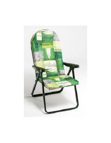 Tumbona silla plegable sin reposapies tienda de camping for Silla tumbona plegable