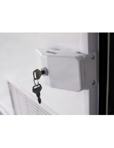 Cerradura para perfil de la puerta. Door Frame lock Thule.