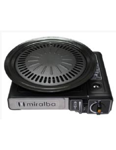 Plaque de grill pour cuisine portable Miralba
