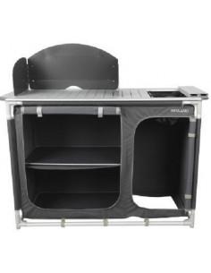 Armário de cozinha de alumínio Midland com pia