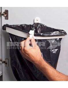 Suporte para saco de lixo Snapster. Brunner