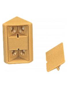 Kunststoffwinkel für Möbel und Schubladen