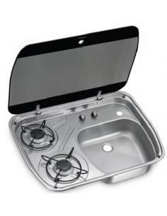Cuisinière à gaz avec évier Dometic HSG 2445