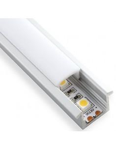 Perfil de alumínio impermeável para tiras de LED.