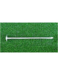 Stahlhacke / Nagel mit Scheibe 150mm