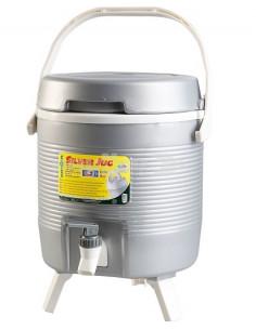 Recipiente térmico. Jarro de prata 4.2 litros