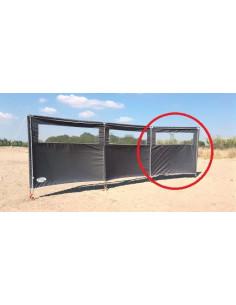 Extension de pare-brise avec fenêtre 160 x 140 cm
