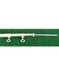 Mastro extensível de aço / barra