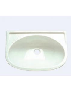 Blanco Rechtes Waschbecken 39x30