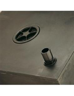 Tankanschluss mit 40 mm Durchmesser