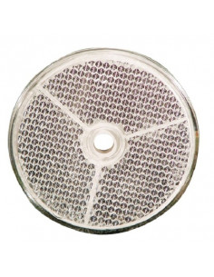 Weiße runde katatrioptische 61 mm Ø