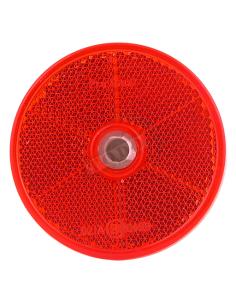 Catadrióptico redondo rojo 61 mm Ø