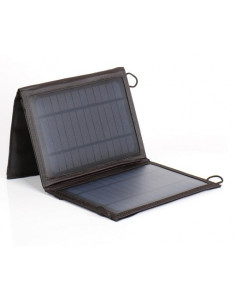 Panel solar portátil  7W Carbest