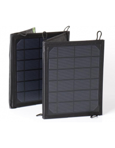 Panel solar plegable de 15 W. Carbest