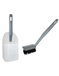 Escovar ou escovar para limpar o WC