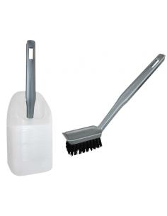 Pinsel oder Bürste zum Reinigen des WC