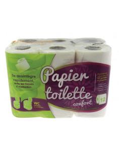 Papier hygiénique soluble chimique-12 unités