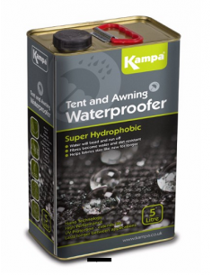 Líquido impermeabilizante 5L Waterproofer Kampa
