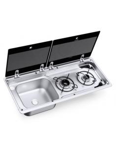 Cocina de gas con fregadero Dometic MO 9722 L