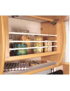 Kit de 3 barres pour réfrigérateur 25cm à 43cm Camco