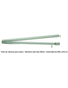 Leinwand tubo de reforço de telhado extensível de 250 a 270 cm