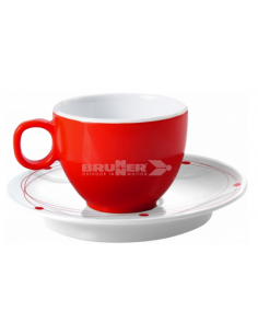 Copo de café e conjunto de placas 10 cl Melanina cósmica. Brunner