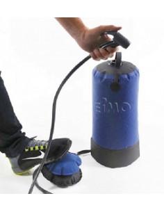 Ducha portátil con bomba de pie 12 Litros