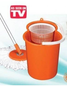 Conjunto de Limpeza Easy Mop Drains sem pedal