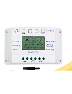 Régulateur solaire 12-24 V MPPT - 10 A