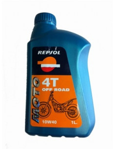 Huile Repsol Moto 4T Off Road - 1 litre