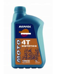 Aceite Repsol Moto 4T Sintético-1 Litro