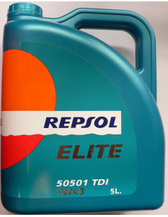 Huile Repsol Elite pour voiture - 5 litres
