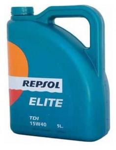 Aceite Repsol Coche Elite TDI - 5 Litros