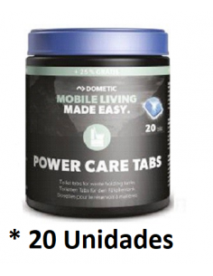 Pastilhas Dometic Power Care 20 unidades