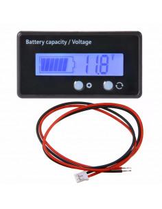 Voltimetro indicador de batería 12v