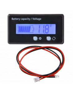 Voltmètre indicateur de batterie 12v