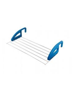 Rack de roupa ajustável para janela ou porta Kampa