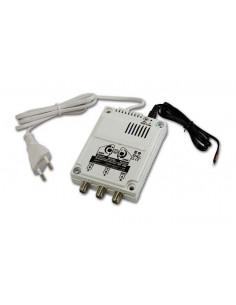 Amplificador de alta eficiencia con doble ajuste 12/220V