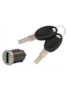 Cylindre de sécurité avec deux clés de modèle HSC