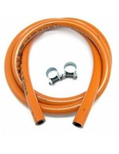Kit de tuyaux au butane + colliers 1,5 m