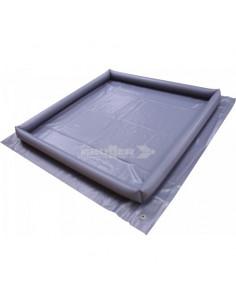 Aufblasbarer Boden für Doppelboden und Einhausungen von 250 x 500 cm Brunner