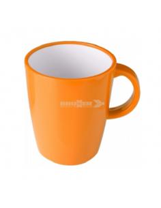 Grande copo de 30cl de melanina laranja. Brunner